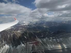 Blick in die wilden Dolomiten